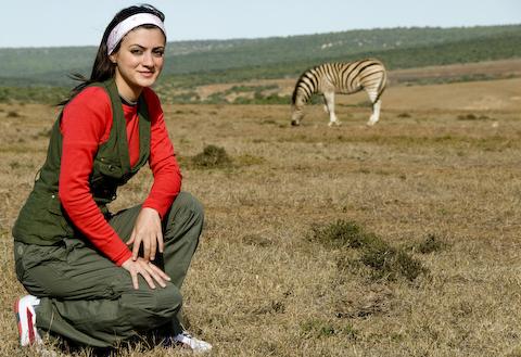 The nonchalant Zebras weren't too worried