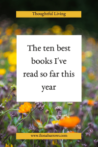 Ten best books I've read so far this year