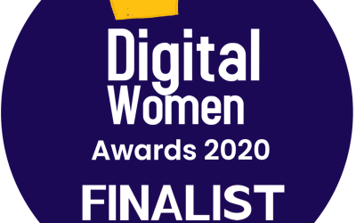 I am a finalist in the first ever DigitalWomen Awards!