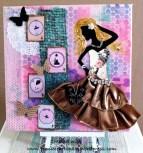 "Mixed Media Canvas Art - ""Dance"""
