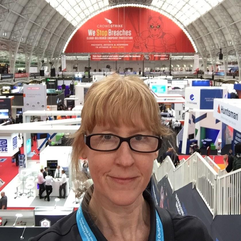 Fiona Cullinan, Infosec Europe 2017