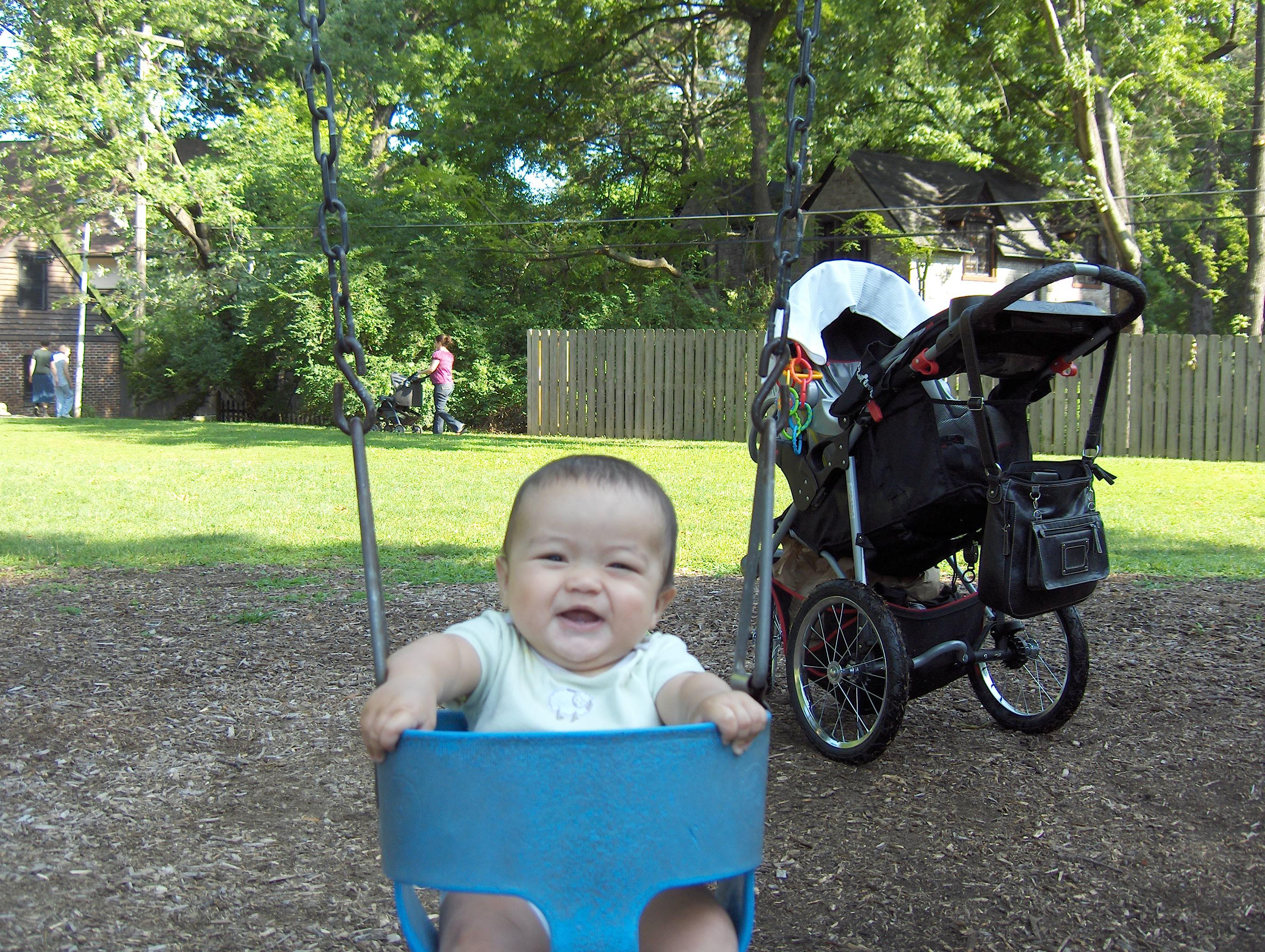 First Swing