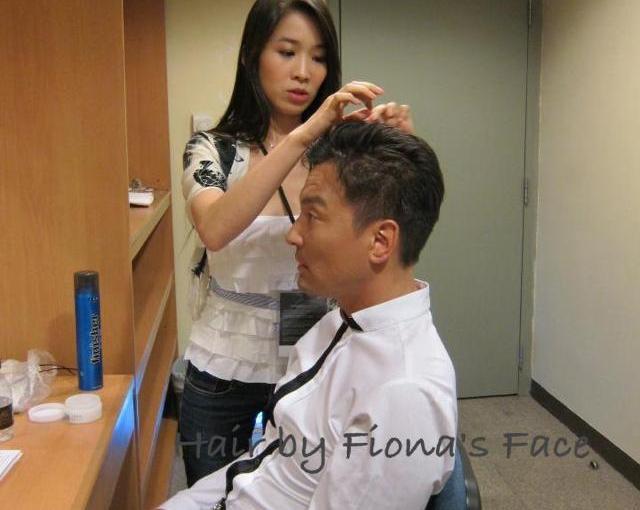 Event styling 澳門威尼斯人渡假村酒店4周年演唱會司儀Hair Styling