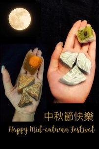 Mooncake, original design by HK face painting artist fiona