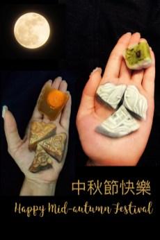 Mooncake, original design by HK face painting artist fiona