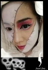 Halloween makeup by fiona