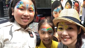 festival face painting HK