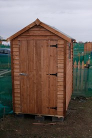 And of course, no garden is complete without a shed, so I had to get myself one