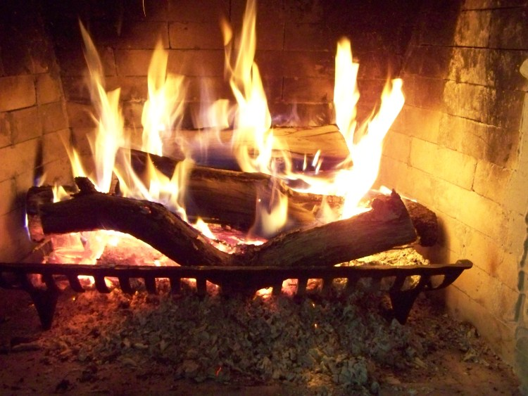 The meaning behind Housewarming - carrying in the embers to warm the home!