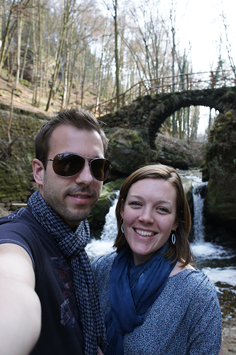 Rasmus & Fiona in Mullerthal, Luxembourg