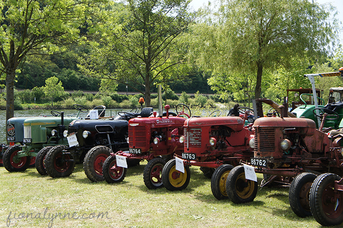 Moselle Tractor Festival Luxembourg