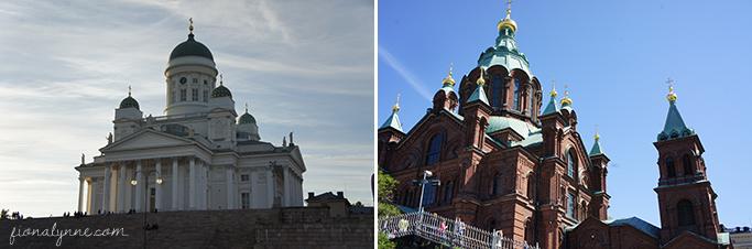 Helsinki cathedrals