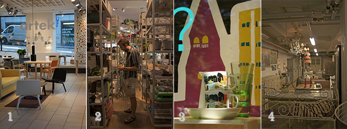 Helsinki design shops