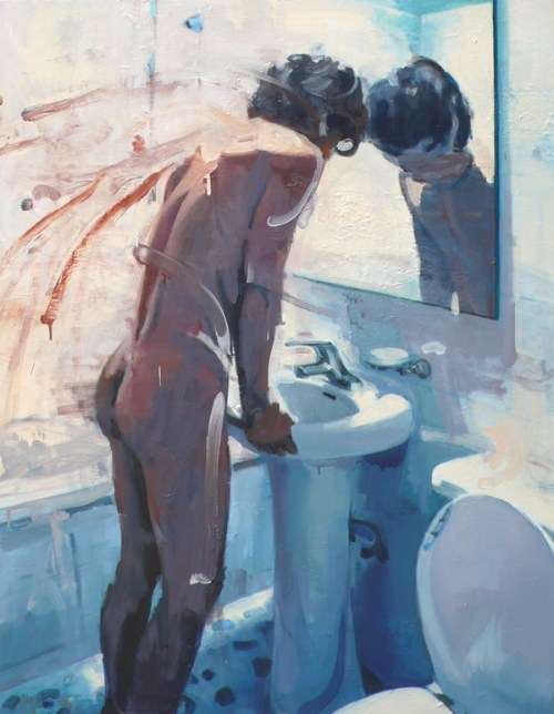 Girl at Sink by Kim Sangduck