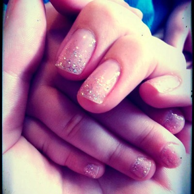 mother daughter nails