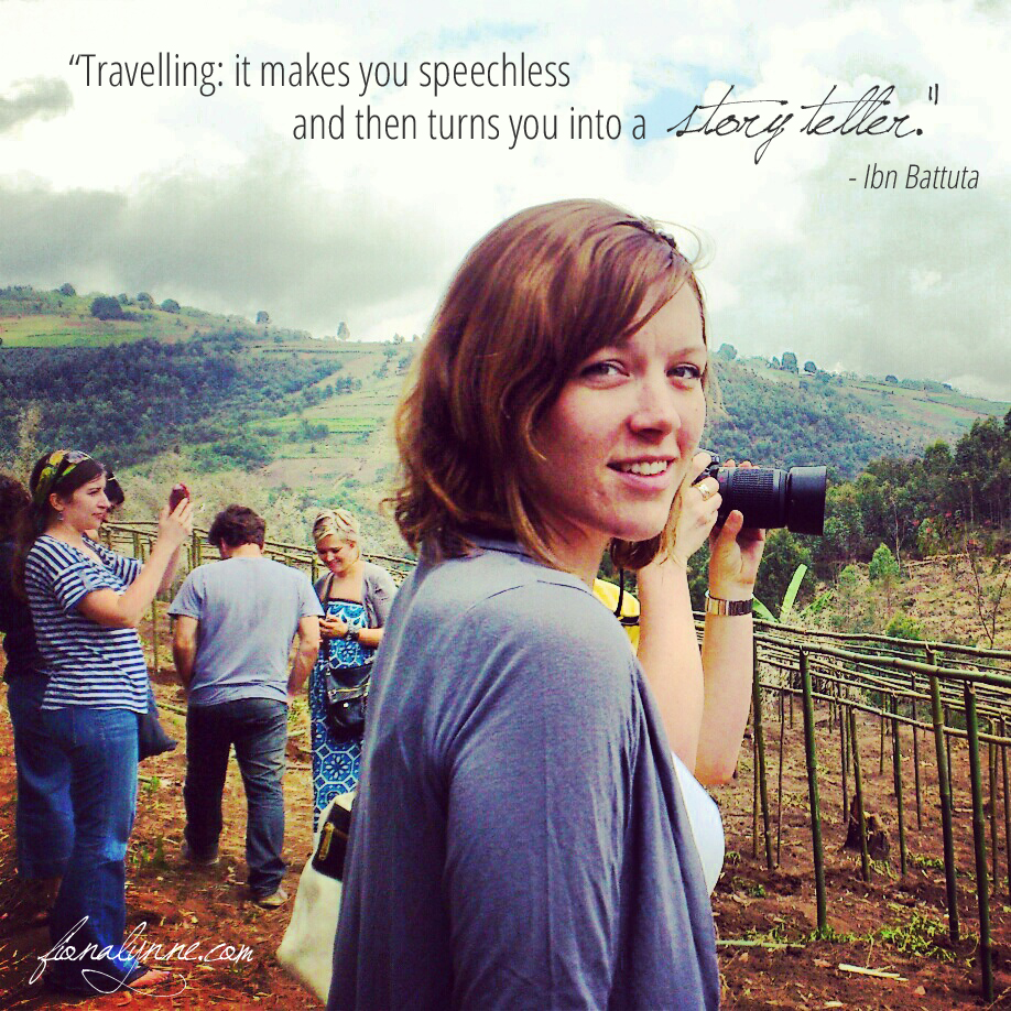 """Travelling; it makes you speechless and then turns you into a storyteller"" - Ibn Battuta"