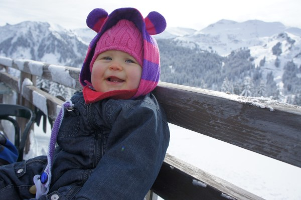 Samoëns Baby enjoying the view!