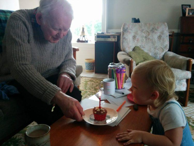 Grandpa's 87th Birthday