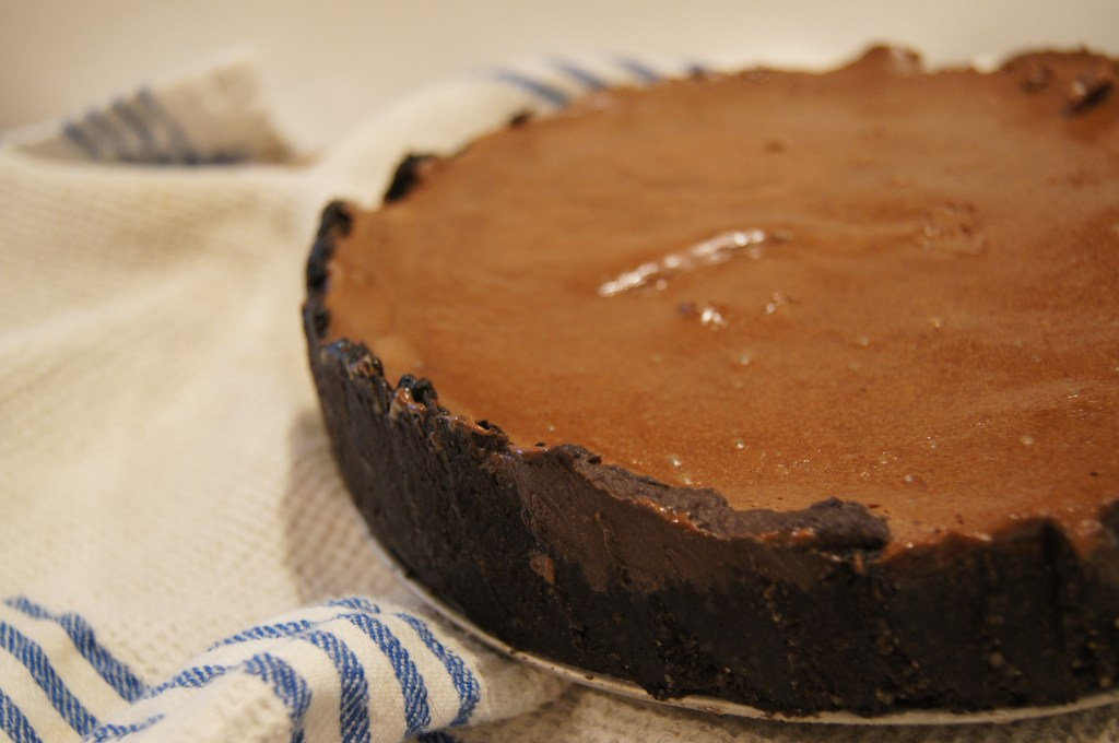 Cauliflower Chocolate Tart