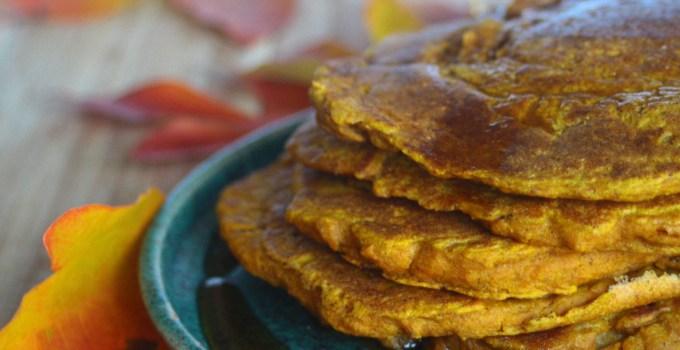 Pumpkin Spice Pancakes (Vegan and Gluten-Free)