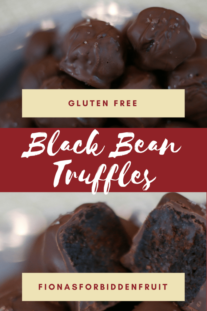 Black Bean Truffles