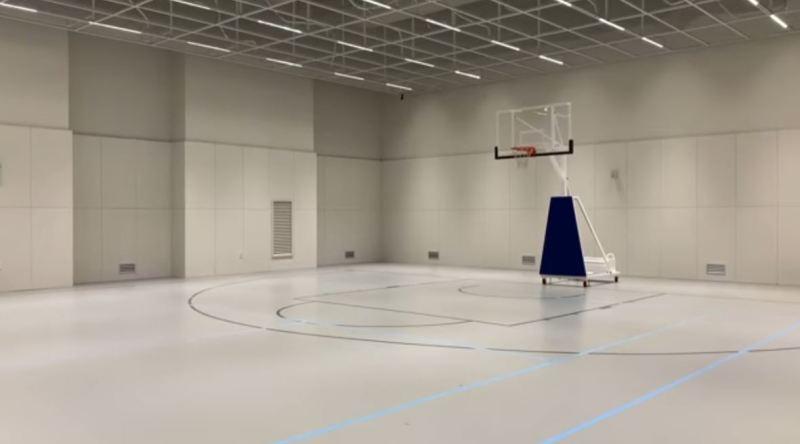 91 籃球場