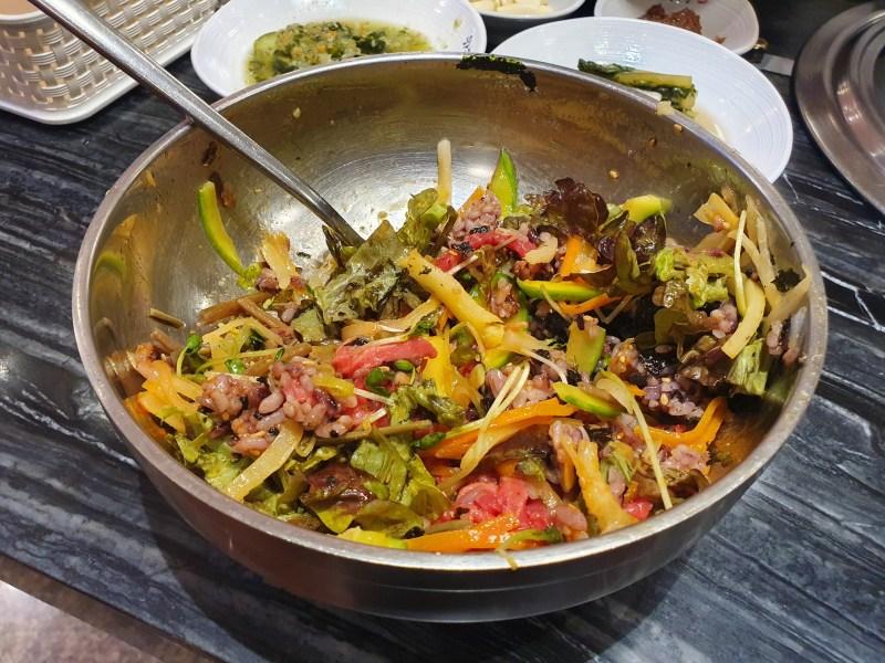 육회비빔밥