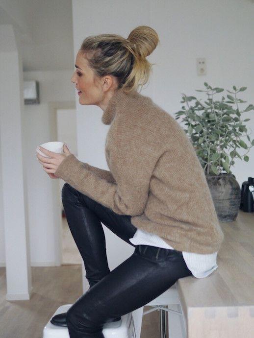 abbigliamento cozy comodo moderno