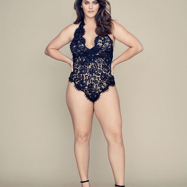 Victoria's Secret Modelle curvy