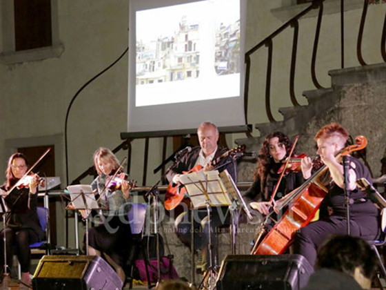 grollo & 5 string quartet