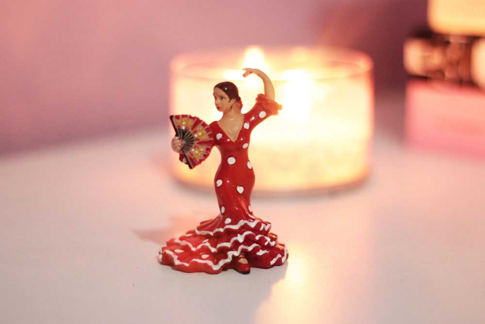 Bailarina Flamenca para ensaio fotográfico