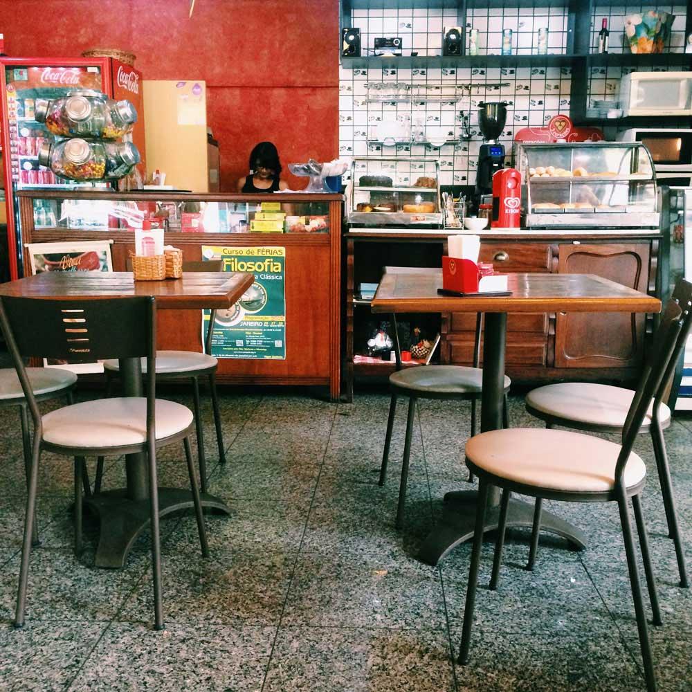Café literário em BH