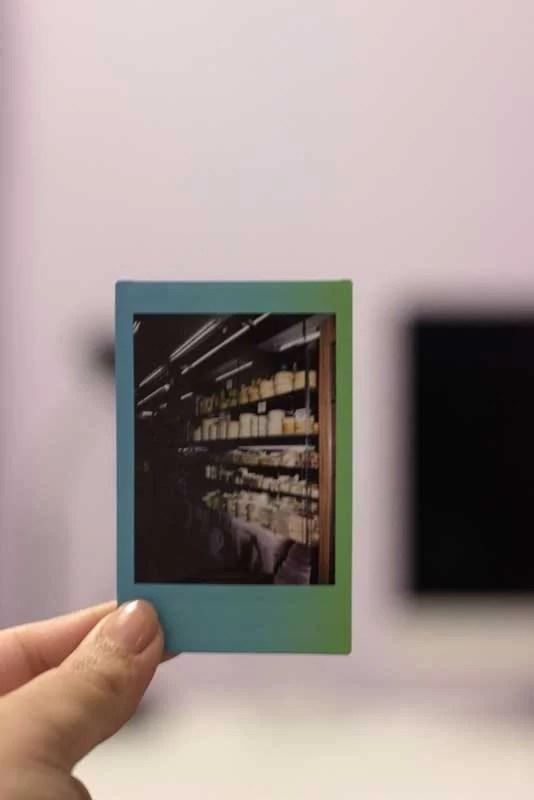 Filme Instax Mini 9 escura