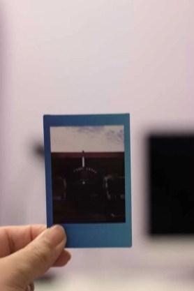 Filme Instax Mini 9 escuro