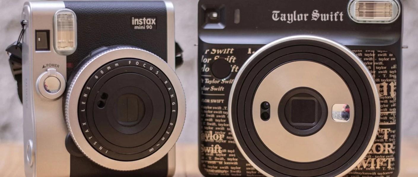 Câmeras Instax da FujiFilm