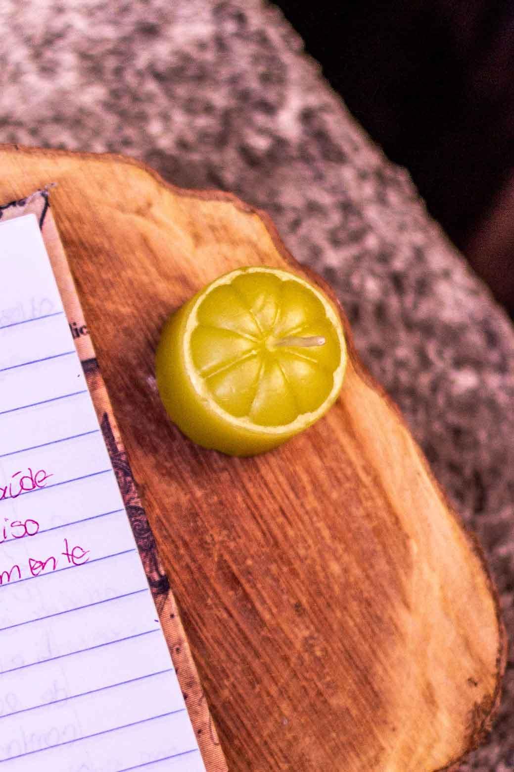 Anotações no caderno da gratidão