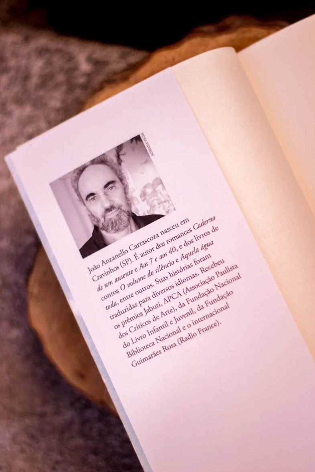 João Anzanello Carrascoza livro