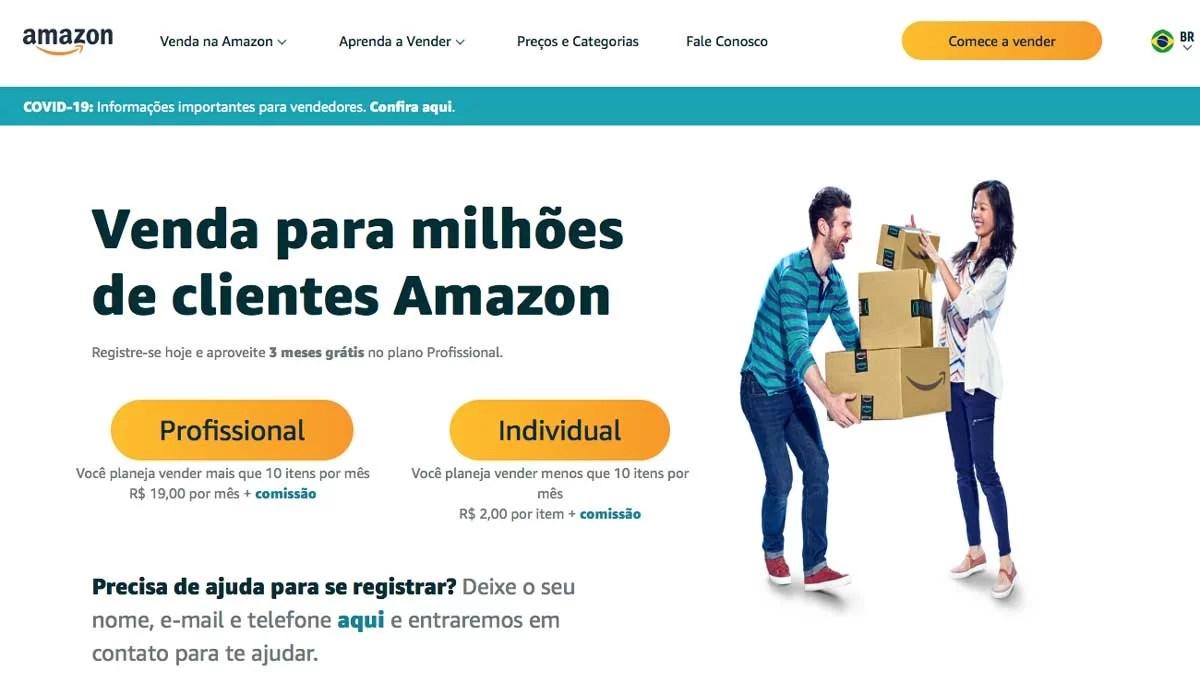 Como ganhar dinheiro com vendas na Amazon