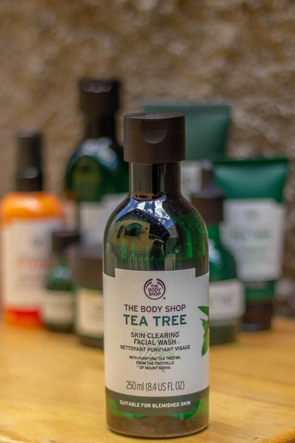 Gel de limpeza The Body Shop