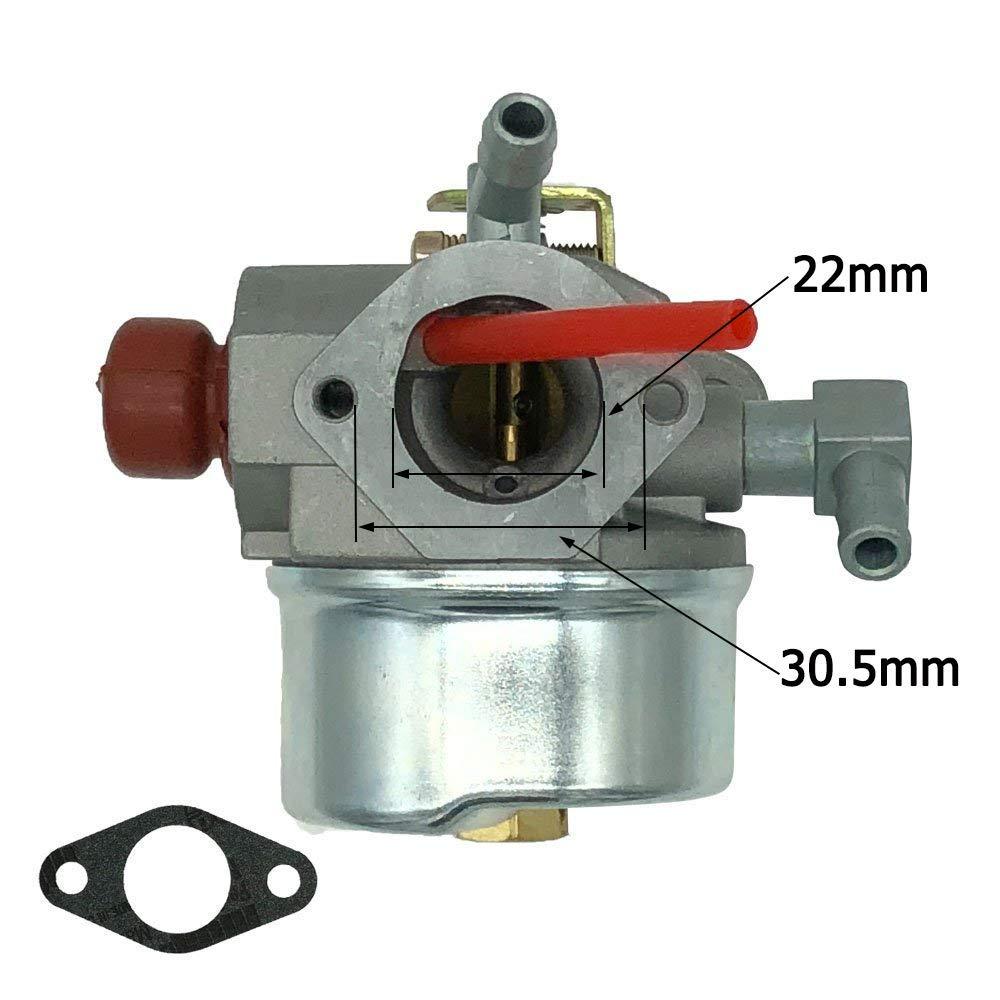 New Carburetor Kit for Tecumseh 640350 640303 640271 Sears Craftmans Mowers Carb