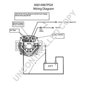 A0014967PGH by LEECE NEVILLE  High Output Alternator