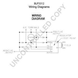 BLP3312 by LEECE NEVILLE  High Output Alternator