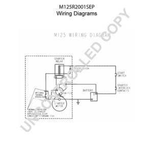 M125R2001SEP by LEECE NEVILLE  Heavy Duty Starter Motor