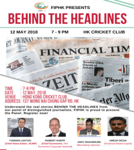 Behind the Headlines: 12-May-2018