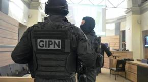 Démonstration du GIPN de Nice lors du 8° salon des métiers de la défense et de la sécurité