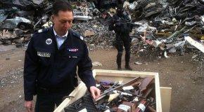 Comment les policiers du Nord se débarrassent des armes à feu