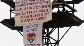 Mulhouse –  Sept heures sur un pylône pour un droit de visite