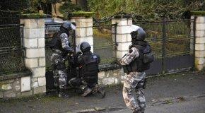 FIPN à la recherche des frères Kouachi – © FRANCOIS NASCIMBENI/AFP
