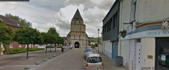 Prise d'otages dans une église de Saint-Etienne-du-Rouvray