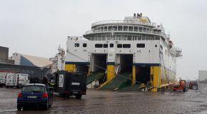 Simulation d'attentat terroriste dans un ferry du port de Dunkerque